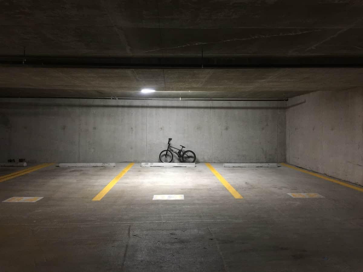 empty parking spot